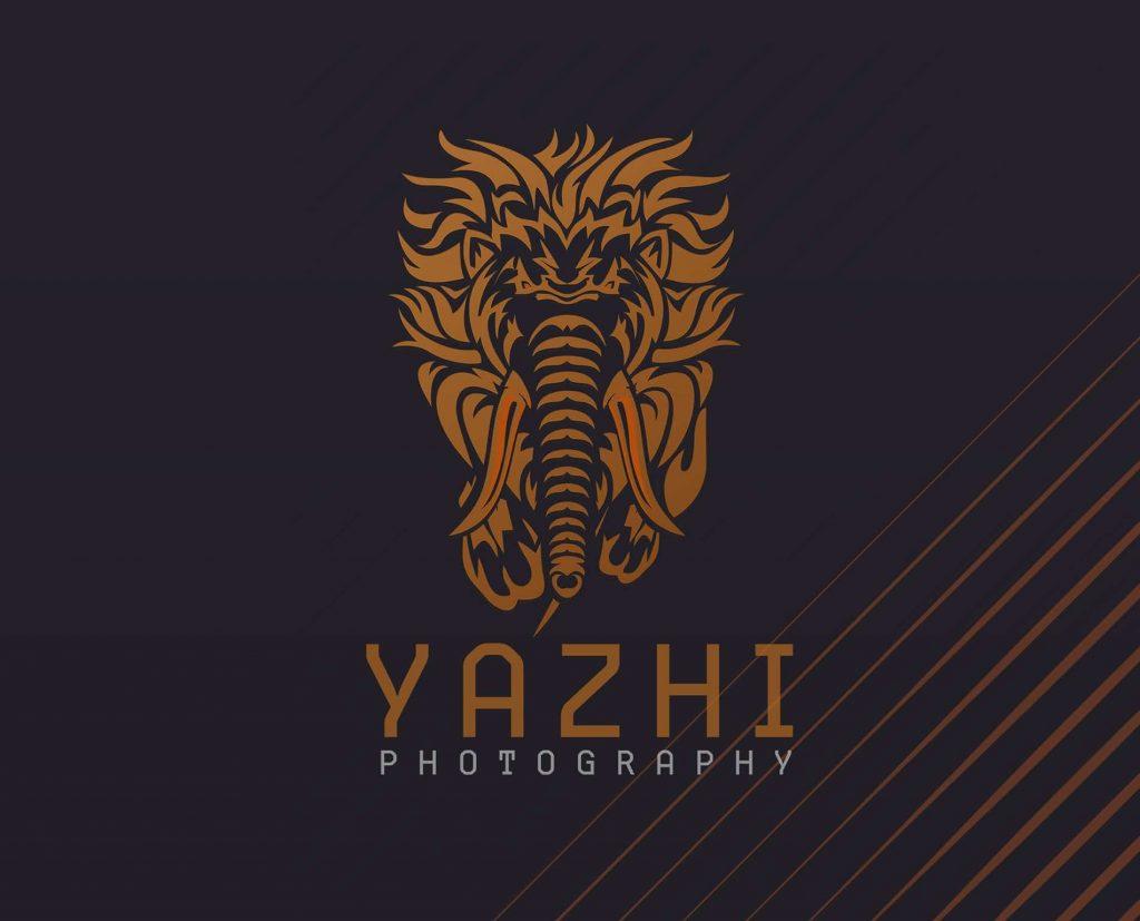 logo design in trichy,yazhi logo, yazhi photography, yazhi trichy, yazhi wedding, yazhi icon