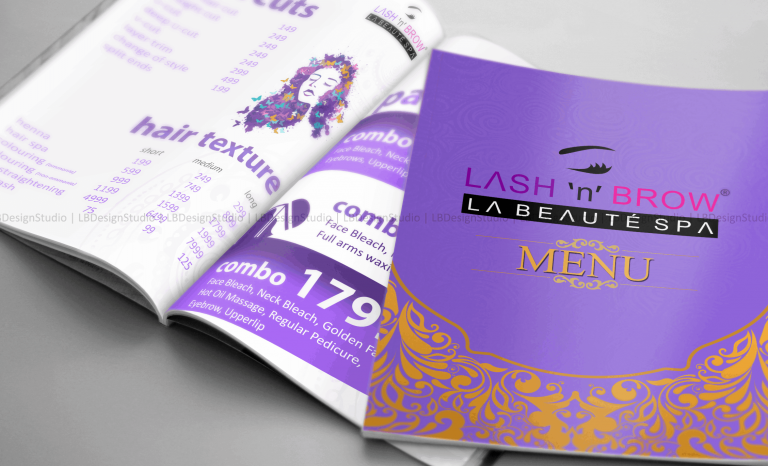 brochure design in trichy, parlour brochure design, brochure design trichy, brochure design in madurai, brochure design madurai