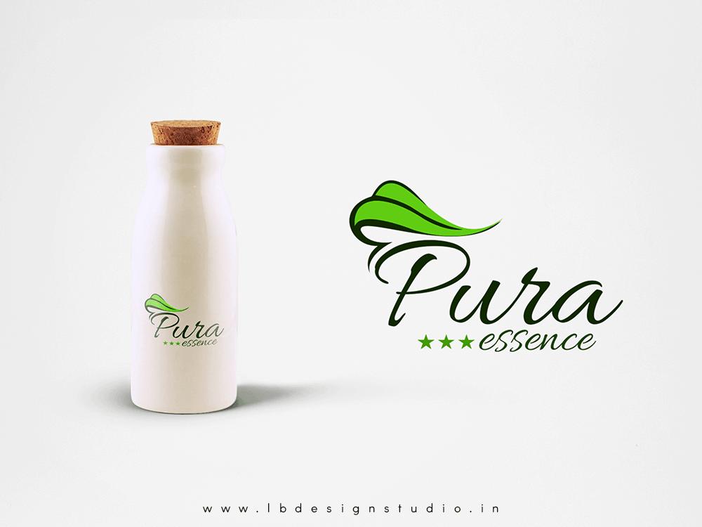 logo design in chennai,logo design chennai,pura logo design,perfume logo design