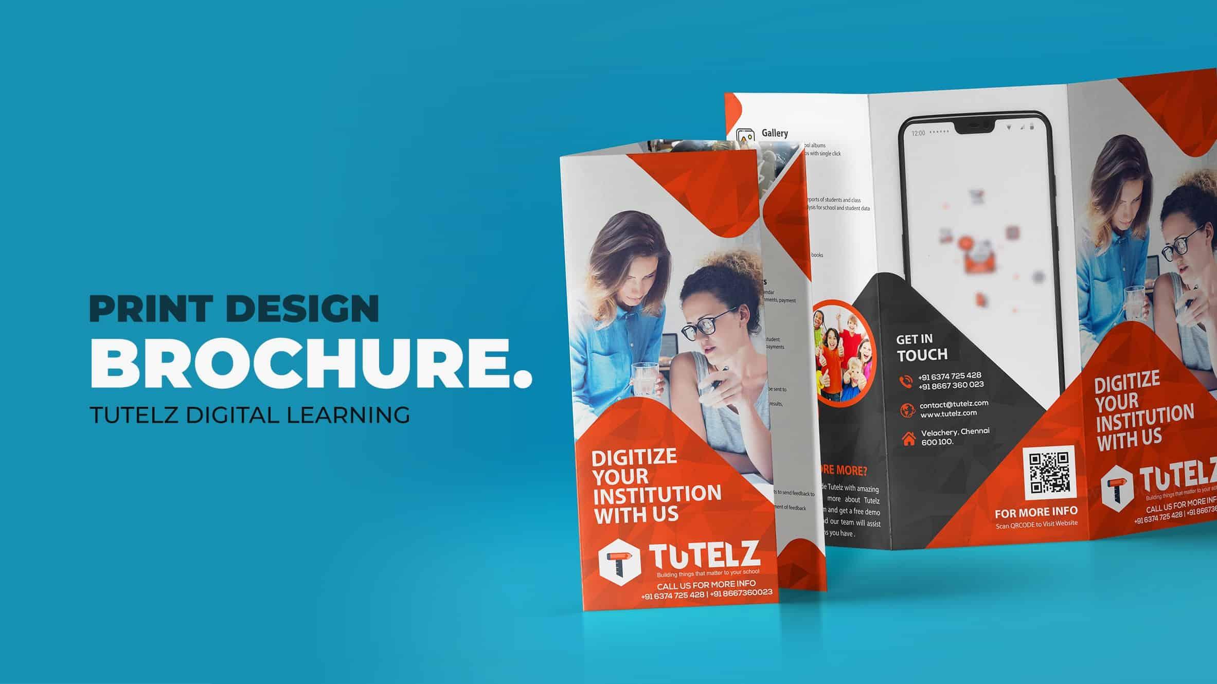 brochure graphic design in trichy coimbatore madurai salem chennai namakkal, brochure design trichy