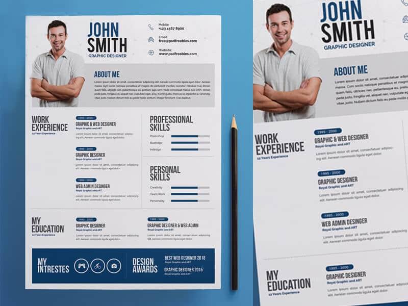 a graphic designer resume
