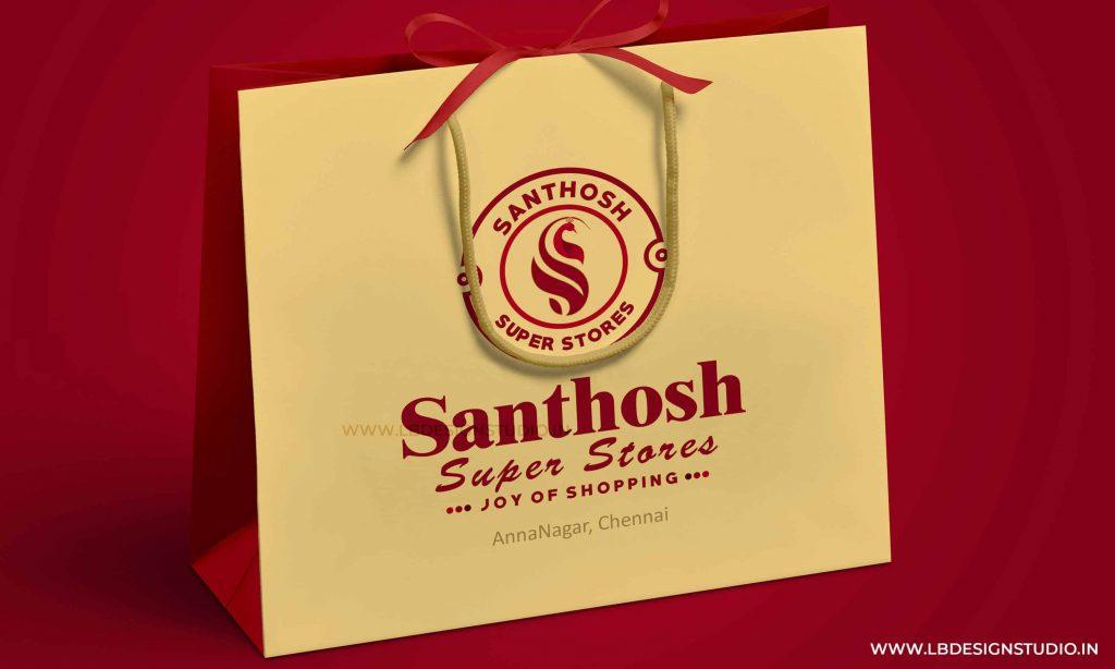 logo design chennai,logo design company chennai,logo design in chennai, santhosh super stores annanagar, santhosh super stores anna nagar