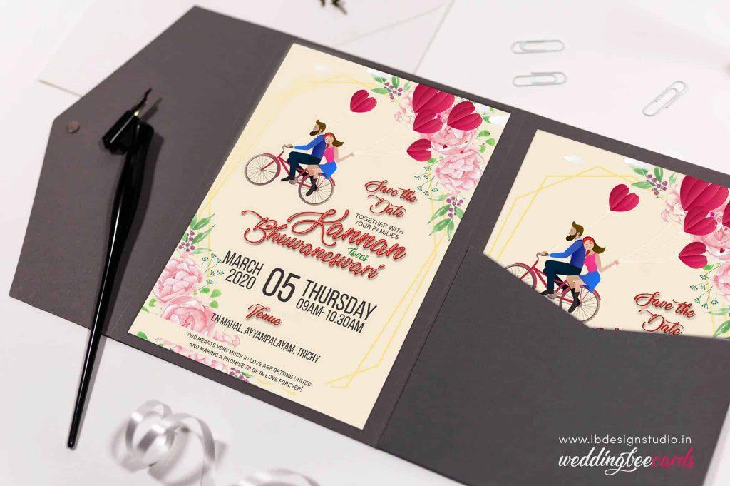 wedding invitation card trichy, wedding invitation card design trichy, wedding e-invitation card trichy, whatsapp invitation card