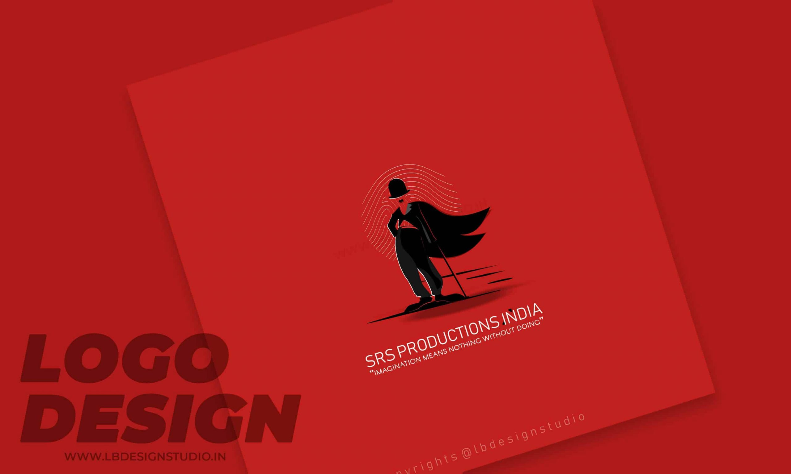 logo design chennai,logo design company chennai,logo design in chennai, srs productions logo, super hero logo design, charlie logo design